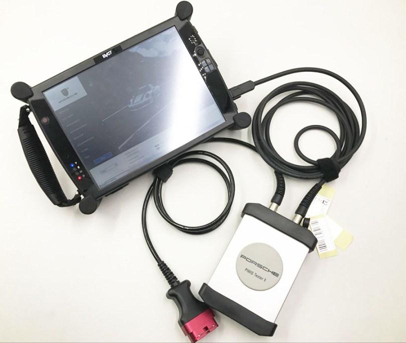 [SET] Piwis 2 Tester for Porsche + EVG7 DL46 Diagnostic Tablet PC