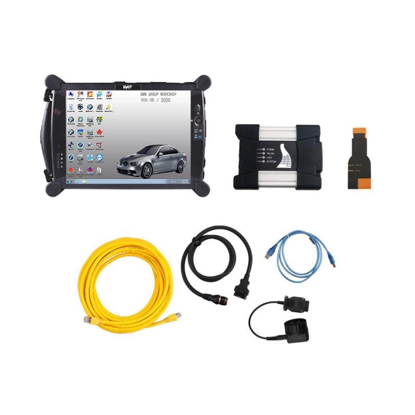 [SET] ICOM for BMW A3+B+C v2020.11 + EVG7 DL46 Diagnostic Tablet PC