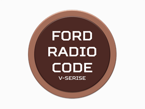 ford radio code logo