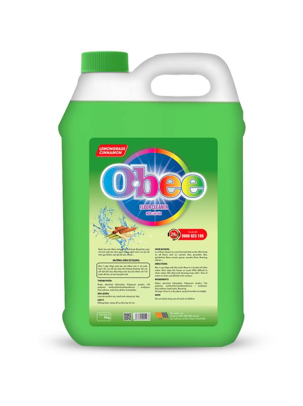 Nước lau sàn Obee sả chanh 5 kg