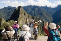 """PERU. Machu Picchu. An Inca site situated 2,400 meters (7,875 ft) above sea level. Often referred to as """"The Lost City of the Incas"""", Machu Picchu probably is the most familiar symbol of the Inca Empire. It is also one of the New Seven Wonders of the World. 2008. Contact email: New York : photography@magnumphotos.com Paris : magnum@magnumphotos.fr London : magnum@magnumphotos.co.uk Tokyo : tokyo@magnumphotos.co.jp Contact phones: New York : +1 212 929 6000 Paris: + 33 1 53 42 50 00 London: + 44 20 7490 1771 Tokyo: + 81 3 3219 0771 Image URL: http://www.magnumphotos.com/Archive/C.aspx?VP3=ViewBox_VPage&IID=29YL530ROSCK&CT=Image&IT=ZoomImage01_VForm"""