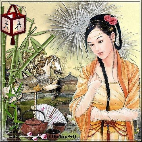 Nouvel an chinois 2014 - l'année du cheval