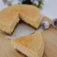Spiced Rum Cheese Cake