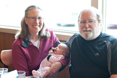 First meeting with Tim & Deary, Claire's paternal grandparents