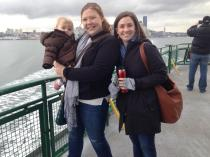 Friday: A visit from one of my absolute favorite people and a day trip to Bainbridge.
