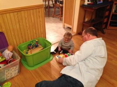 Late Night Toy Testing with Papa John
