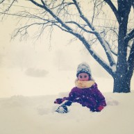 SNOW EMERGENCY. Read: Must go play in snow!