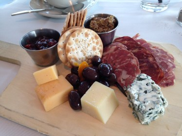 I had the WI Cheese & Meats plate. LOVE.