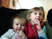 Both my babies are teething. Eegads.