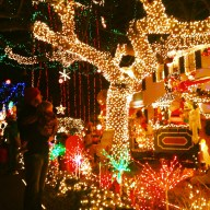We capped it off with an insane light display and dinner out.