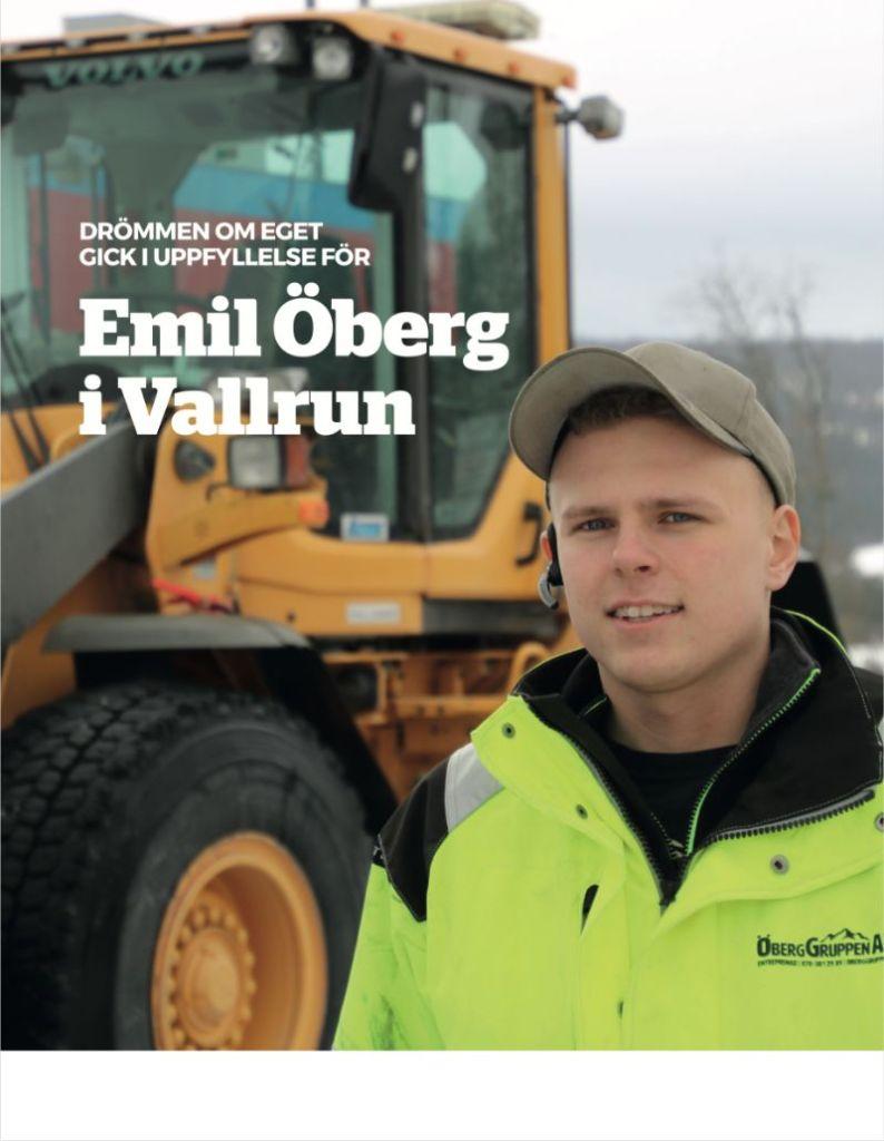 Svensk Åkeritidning   Drömmen om eget gick i uppfyllelse för Emil Öberg. Nr 4 2019