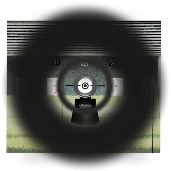 Centra Duplex sight picture