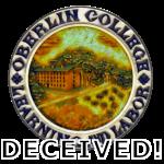 Oberlin College Seal - a symbol deceived.