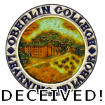 Oberlin College Seal - a symbol deceived.