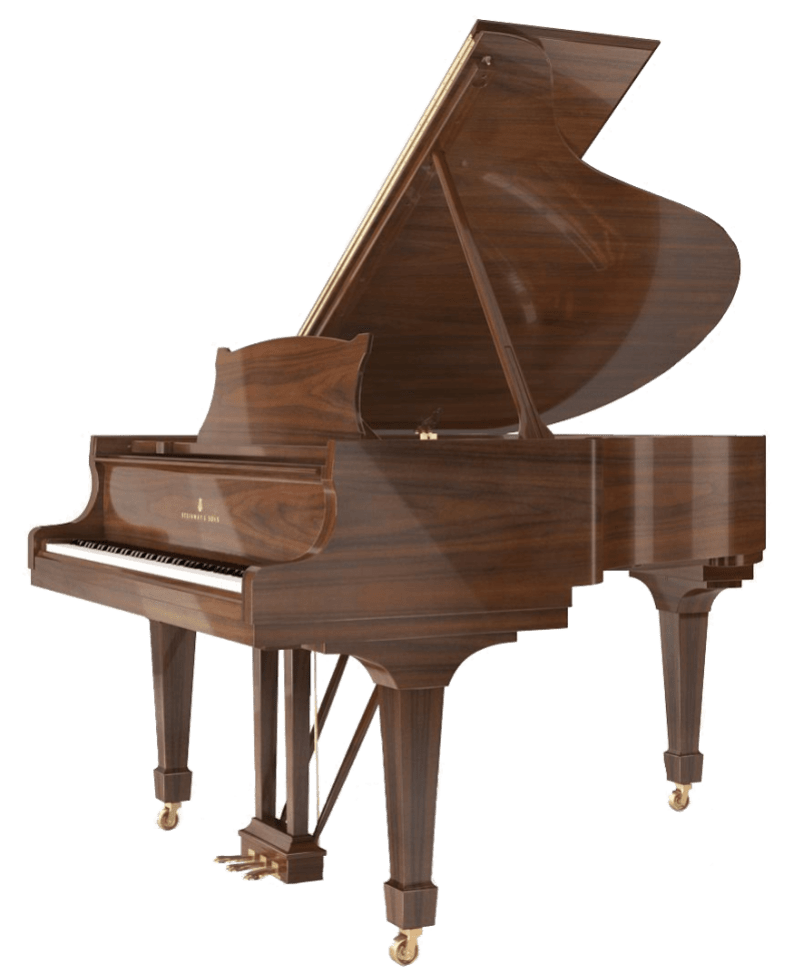 Steinway model D9 concert grand piano