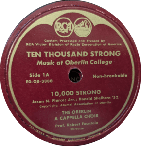 Oberlin Music From 1950 5