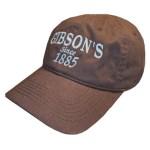 Gibson's Baseball CapCredit: JD Nobody