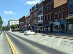 W College St. during COVID