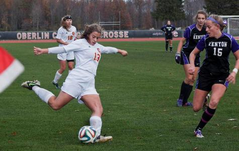 Kenyon Quashes Women's Soccer Playoff Dreams