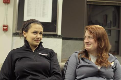 In the Locker Room with Jenny Goldsmith and Katie Pieplow