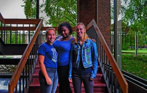 In The Locker Room with Ariana Abayomi, Emma Brezel and Olivia Hay
