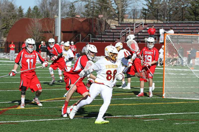 Senior+attacker+Nick+Lobley+pivots+toward+the+goal+Saturday%2C+Feb.+20+in+Oberlin%E2%80%99s+season+opener+against+Olivet+College.+Saturday+Lobley+had+three+goals+as+the+Yeomen+were+defeated+11%E2%80%938+by+the+visiting+Capital+University+Crusaders.+The+Yeomen+hope+to+get+a+win+in+the+books+Wednesday%2C+March+16+when+they+travel+to+Berea%2C+Ohio%2C+to+take+on+the+Baldwin+Wallace+University+Yellow+Jackets.
