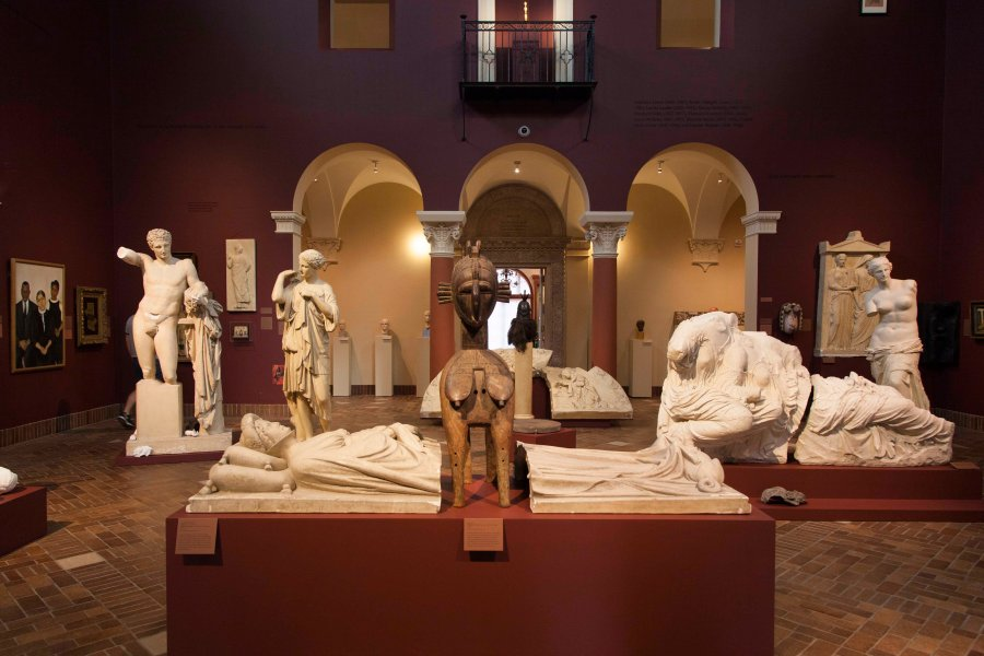 Wildfire+Test+Pit%2C+one+of+two+exhibits+by+Fred+Wilson+that+opened+Thursday%2C+is+an+homage+to+Edmonia+Lewis%2C+the+19th+century%0AOberlin+student+and+neoclassical+sculptor.