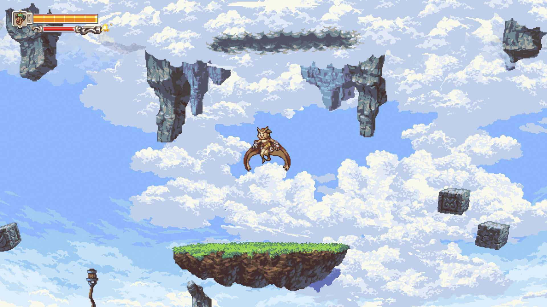 A young owl named Otus embarks on an airborne adventure in D-Pad Studios' gorgeous Owlboy.