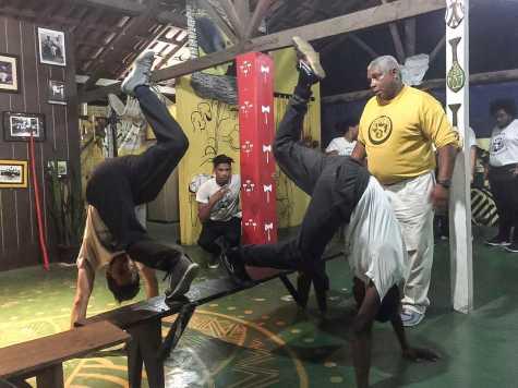 Capoeira Captivates Students