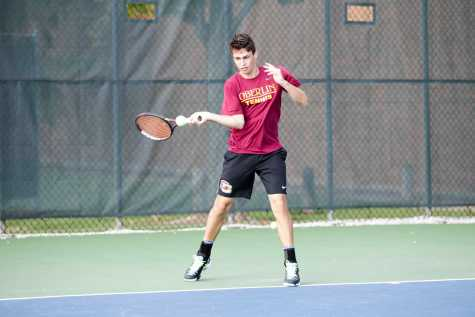 Men's Tennis Squashes Wabash Little Giants