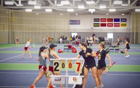 Women's Tennis Splits Home Opener