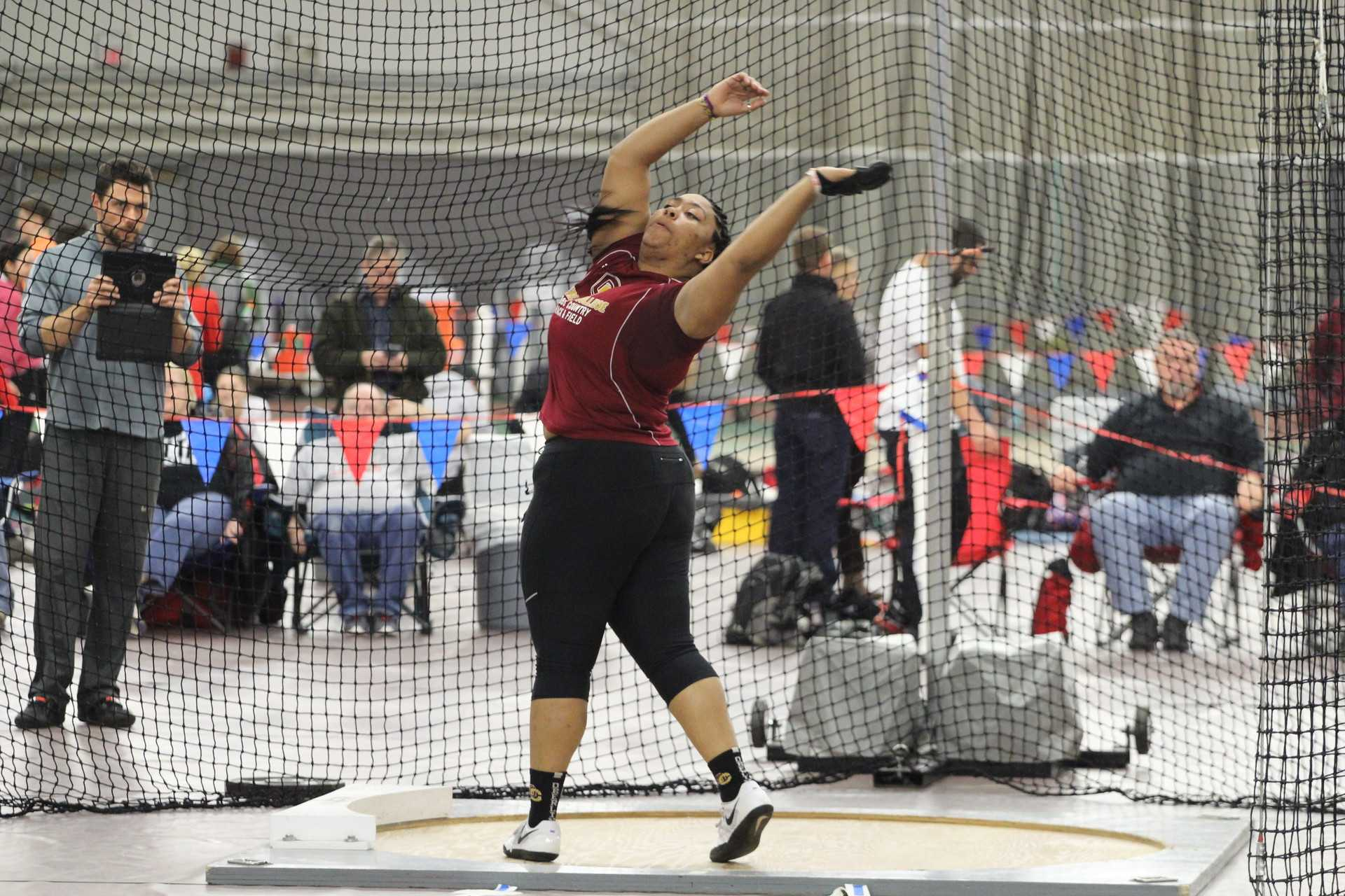 Junior Ana Richardson was named the NCAC Field Athlete of the Week after winning the women's weight throw in the All-Ohio Championships last Saturday.