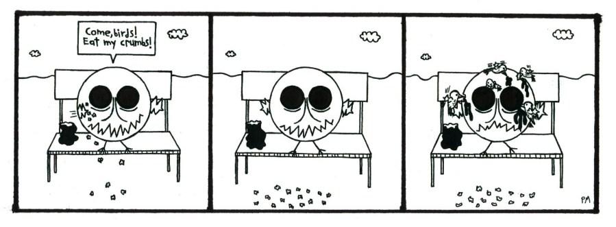 THE UNFORTUNATE OWL: EATEN