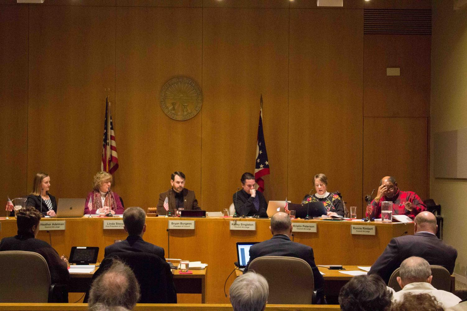 Monday's City Council meeting, where councilmembers and community members discussed the possibility of settling with NEXUS for $100,000.
