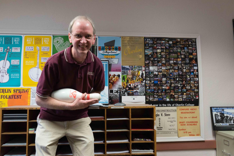 Tom Reid, OC '80, Bowling Coach.