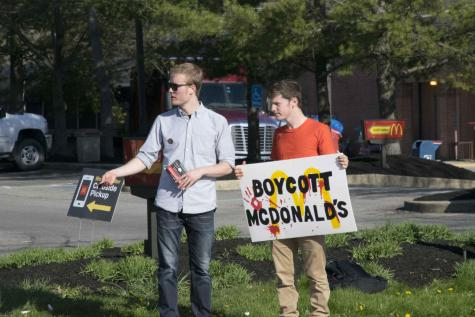 College Students Join McDonald's Boycott