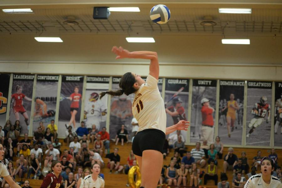 Junior+outside+hitter+Lexi+Mitchell+has+been+the+most+dominant+offensive+player+for+the+Yeowomen.+She%27s+been+named+to+the+all-conference+squad+twice.