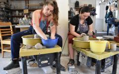 Pottery Co-Op Provides Welcoming Space to New Members