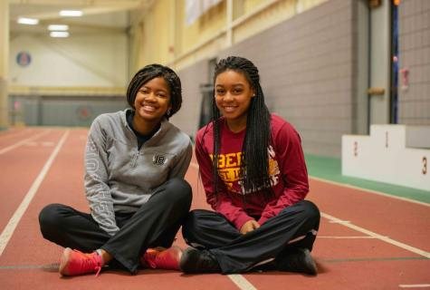 In The Locker Room with Malaika Djungu-Sungu and Jada Kennerly, Women's Track and Field First-Years