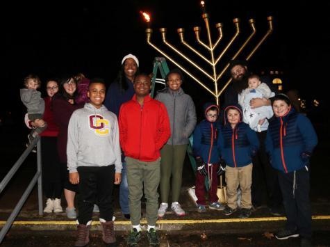 Grand Menorah Lighting Unites Oberlin