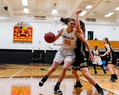 In The Locker Room with Olivia Canning, Senior Basketball Center