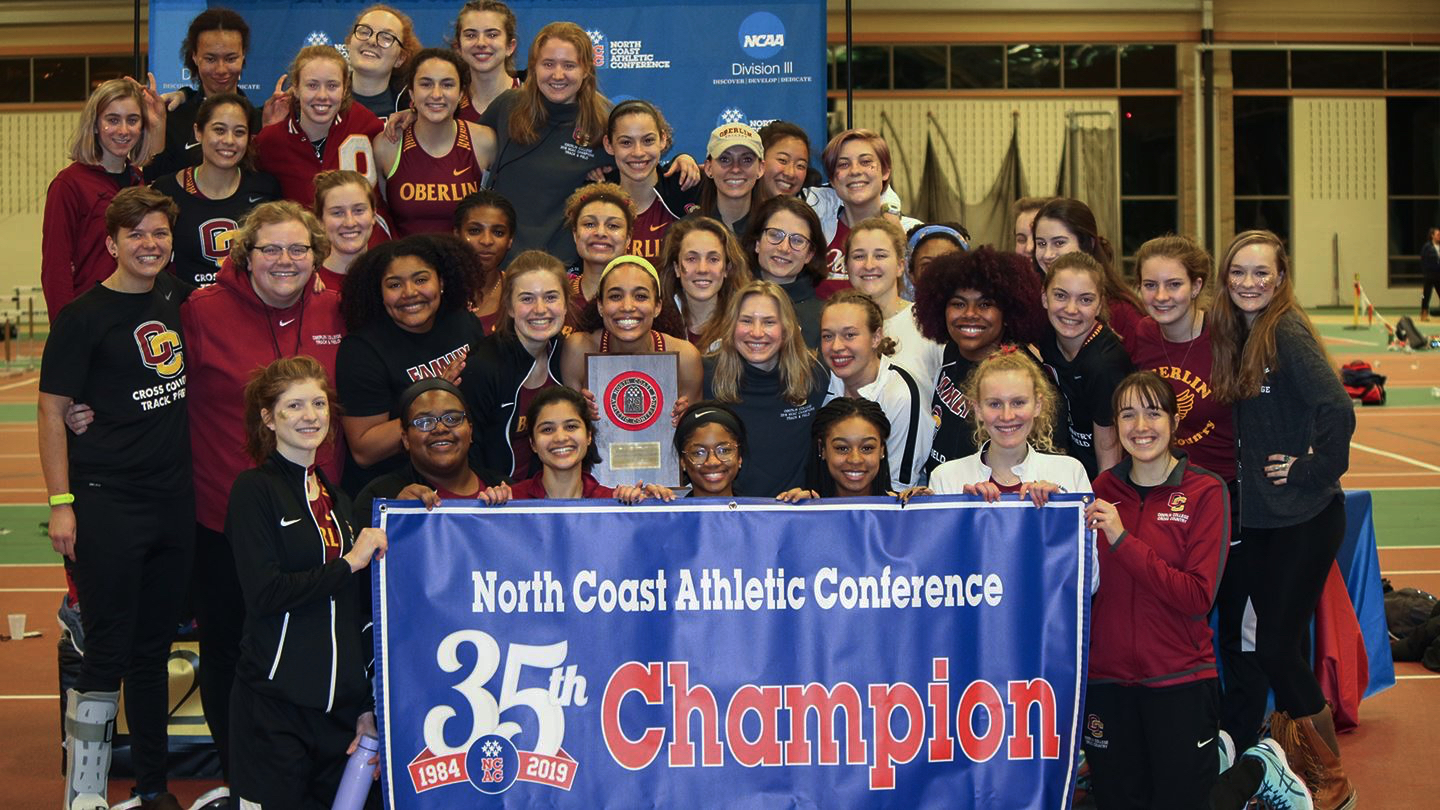 Despite the departure of national champions Lilah Drafts-Johnson and Monique Newton, both OC '18, the women's track and field team proved they are no less dominant as they secured their third straight Indoor Track and Field North Coast Athletic Conference Championship Saturday.