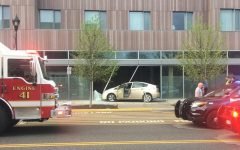 Car Crash Damages The Hotel at Oberlin