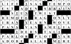 Organ Transplant Crossword Answers
