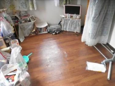 ゴミ屋敷で窓が開けられなかった部屋が、片付けで快適化