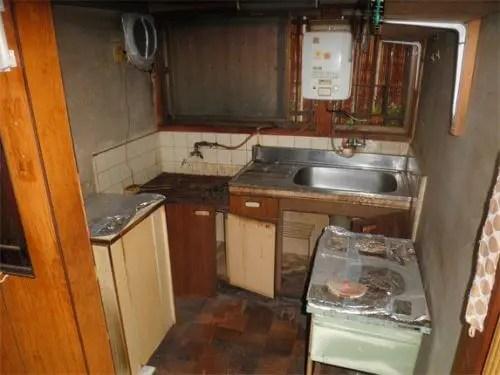 キッチン周りのゴミや不用品は全て排出完了