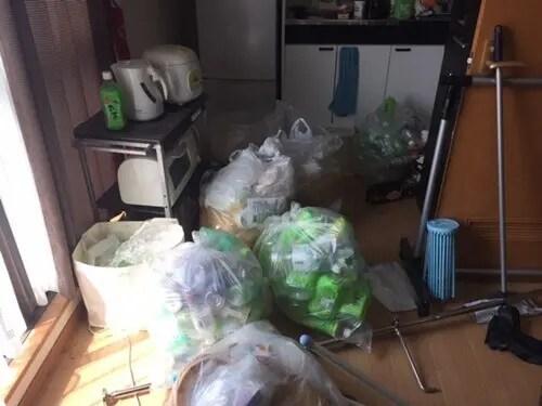 大阪市福島区のゴミ屋敷掃除片付け業者トリプルエス