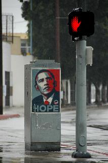 Barack Obama - Obey Giant