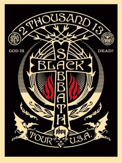 sabbath Tour Posters