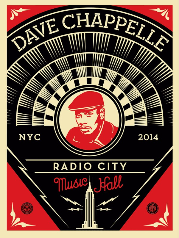 dave chappelle print obey giant dave chappelle print obey giant